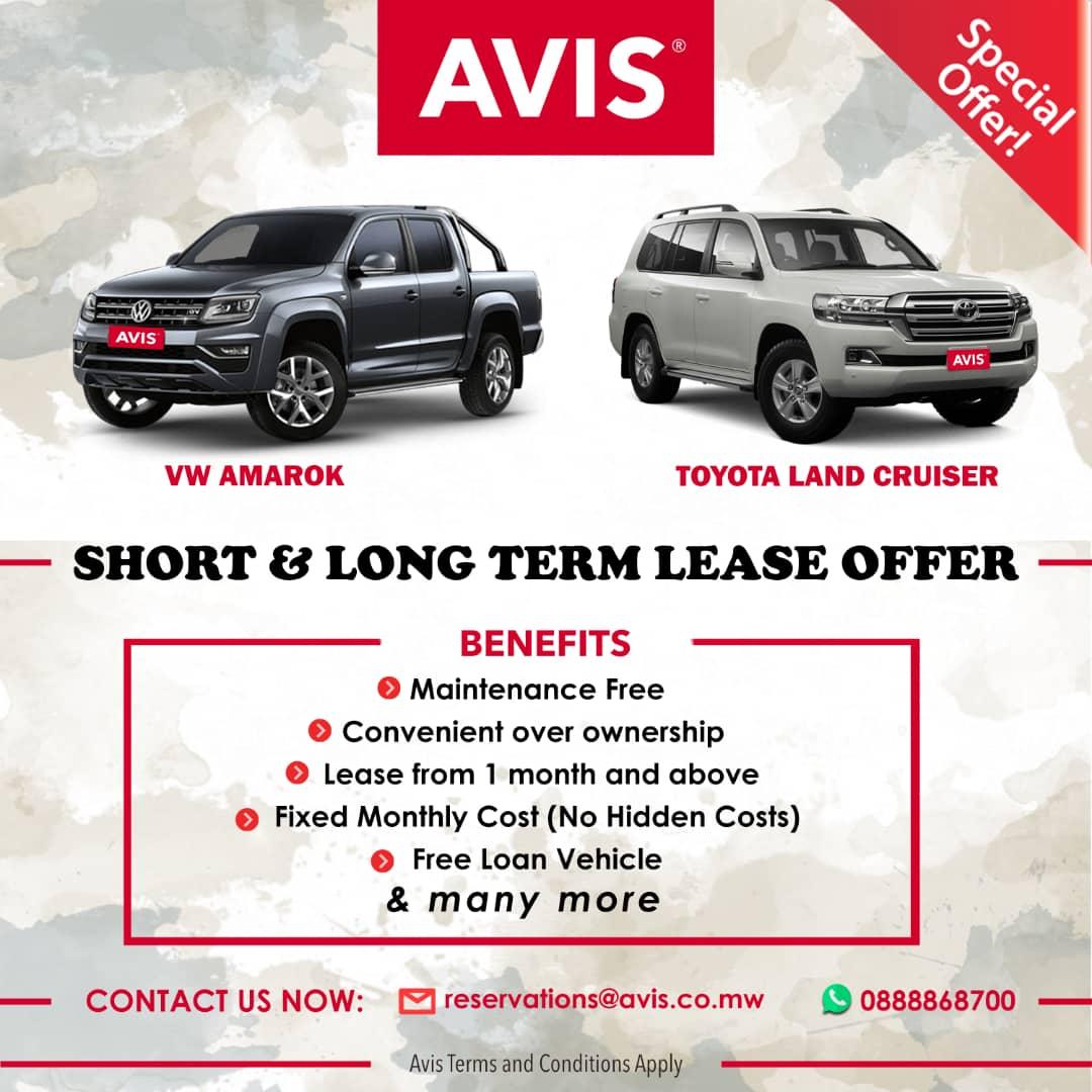 Short & Long Term Lease Offer...