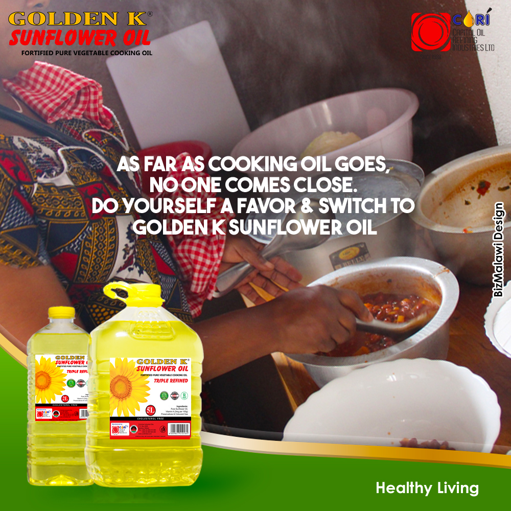 Switch To Golden K Cooking Oil...