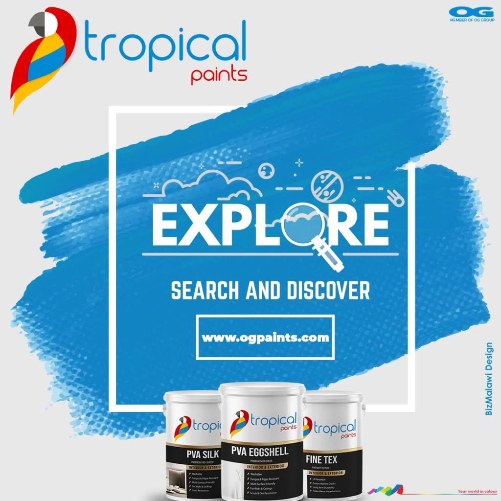 Discover Tropical Paints today!    ...