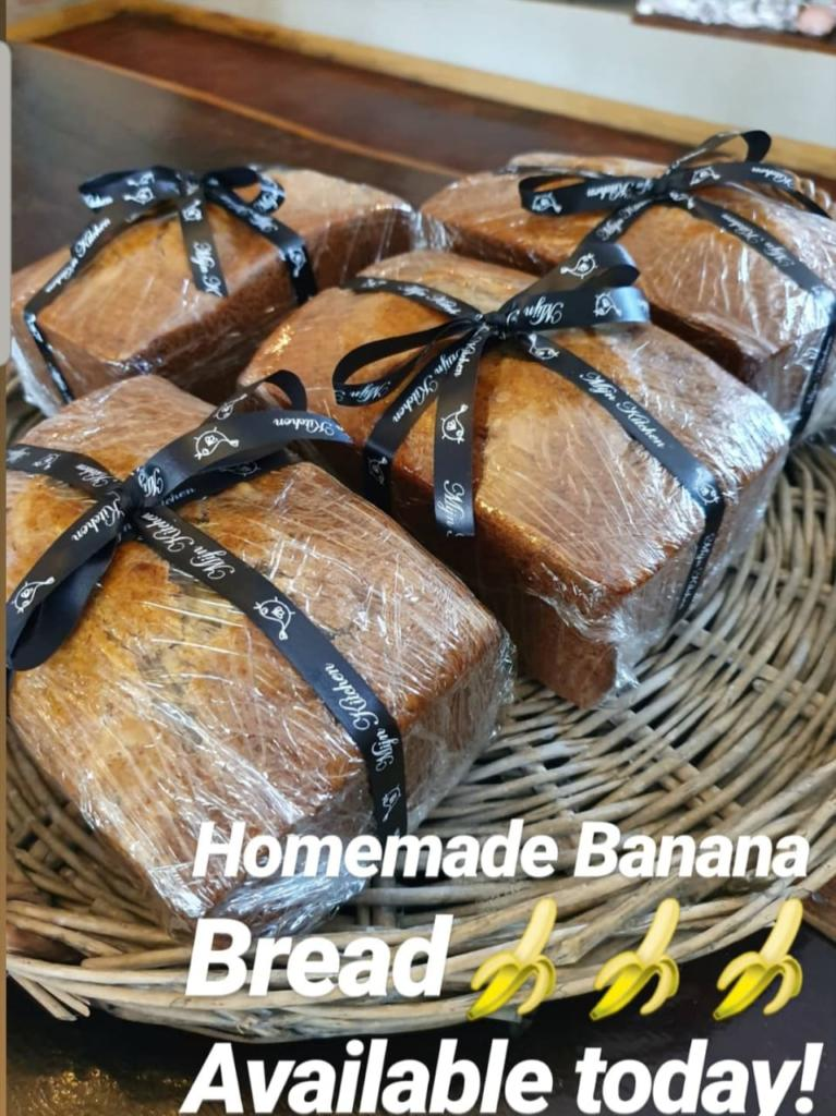 Banana Bread Available Today...