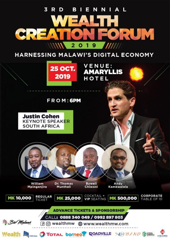 Don't Miss The Wealth Creation Forum 201...