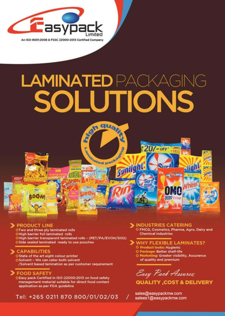 Laminated Packaging Solutions...