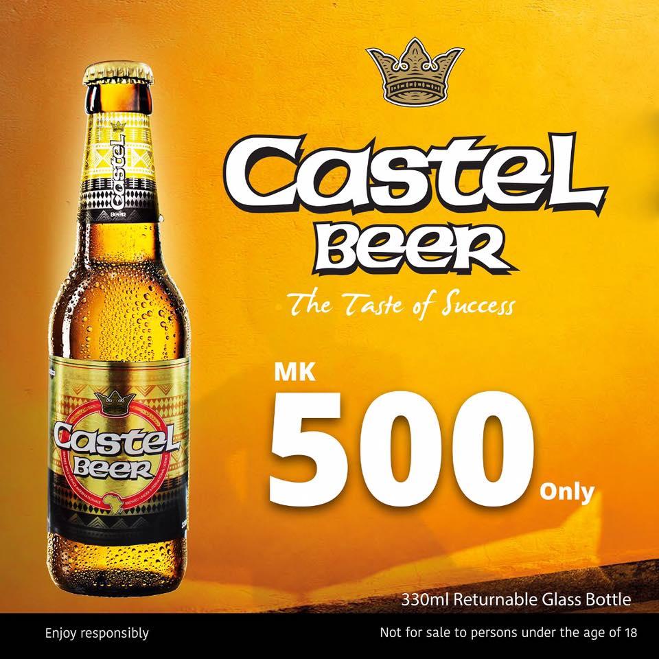 Buy a bottle of Castel for ONLY K50...