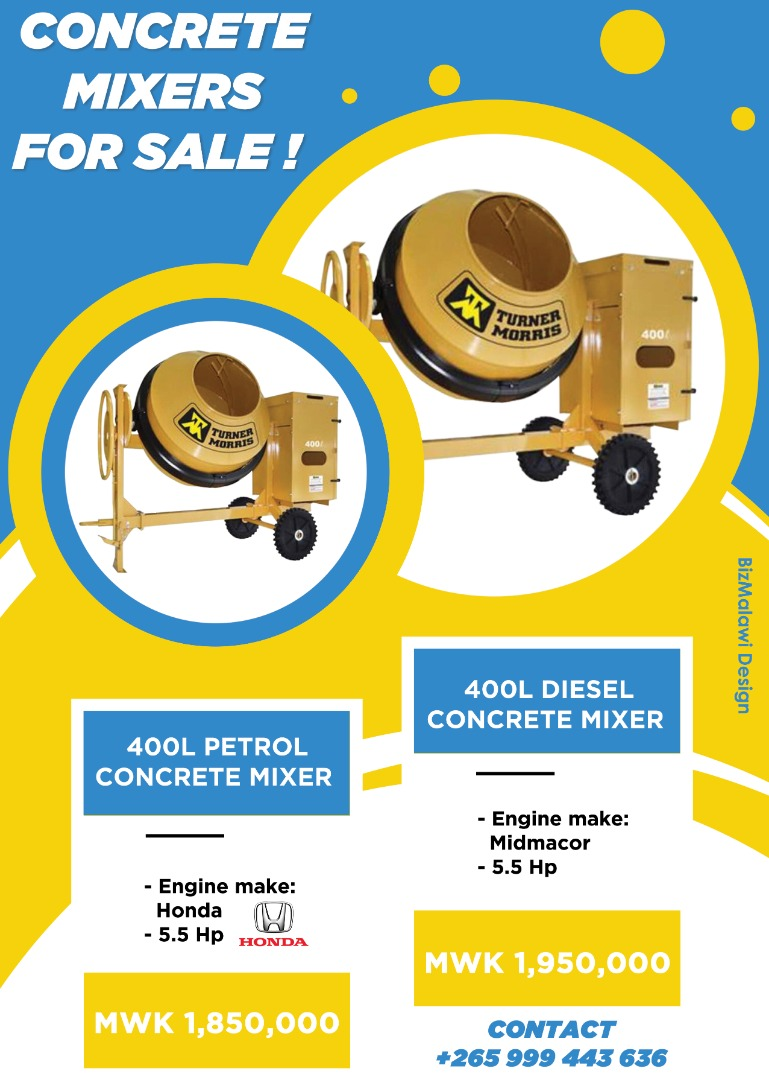 Concrete Mixers For Sale...