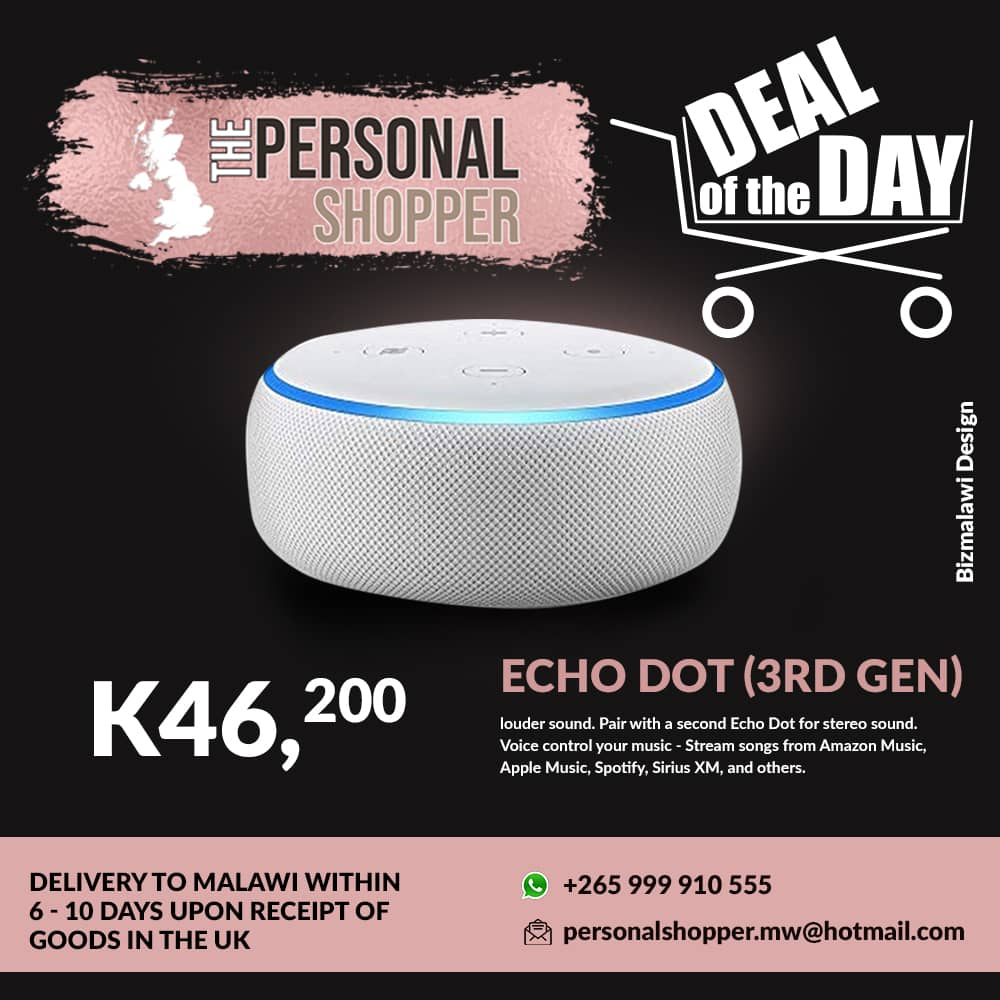 Deal of The Day Contact +265 999 9...