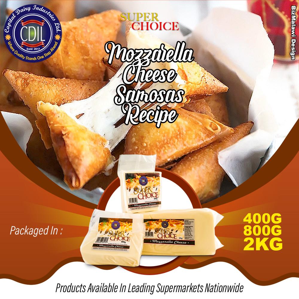 Mozzarella Cheese Samosa Recipe   ...