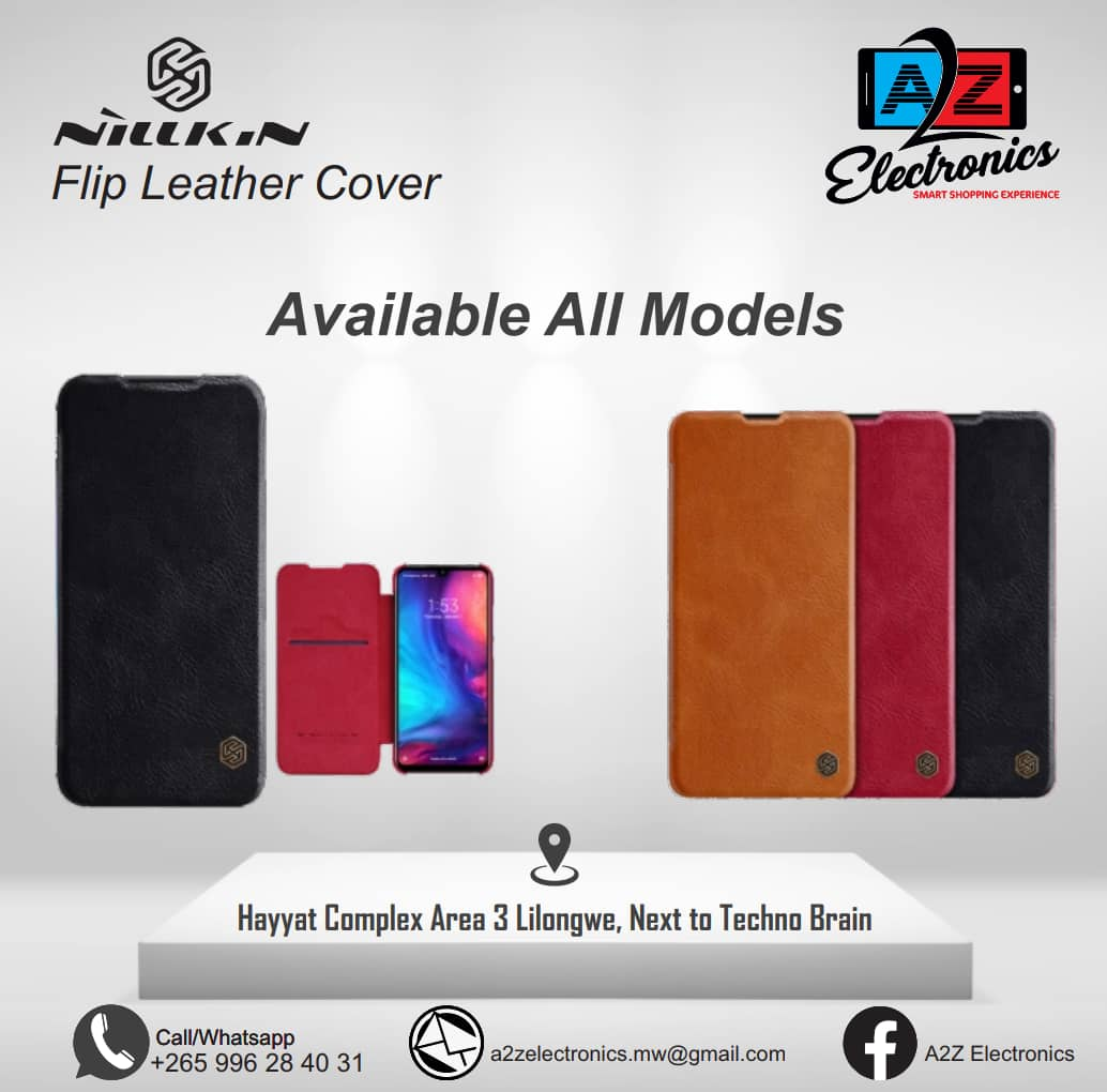 Flip Leather Cover Available For All ...