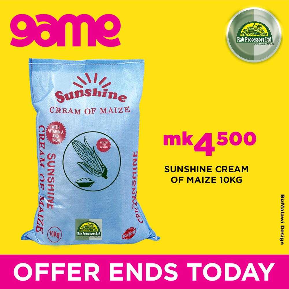 Get Your 10Kg Bag Of Sunshine Cream Of M...
