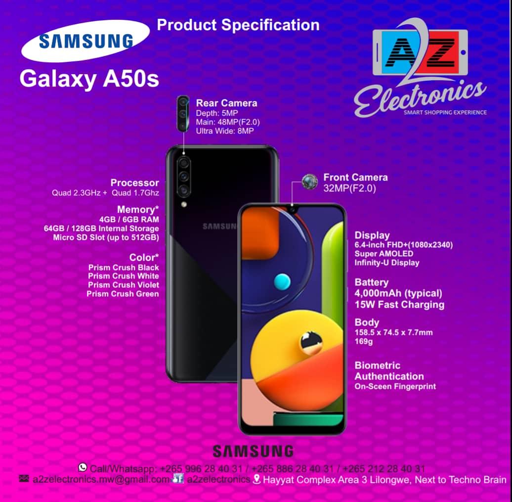 Samsung Galaxy A50s LOCATION: H...