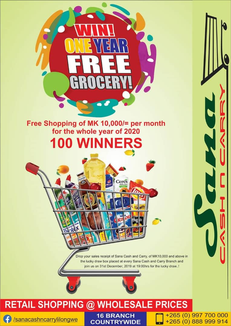 Win One Year Free Grocery-Shopping ...