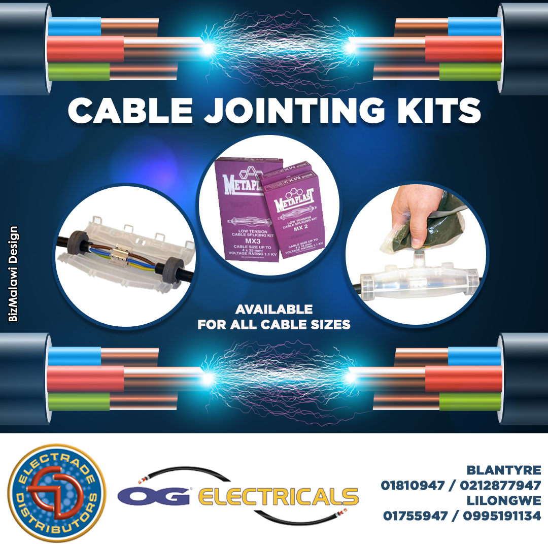 Cable Jointing kits available at OG Elec...