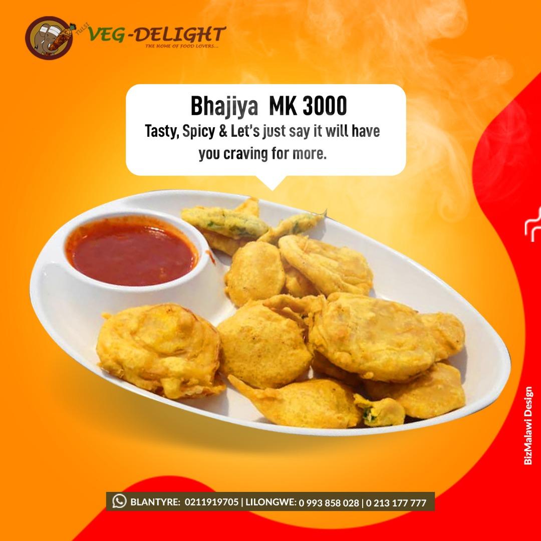 Try Our Tasty & Spicy Bhajiya...