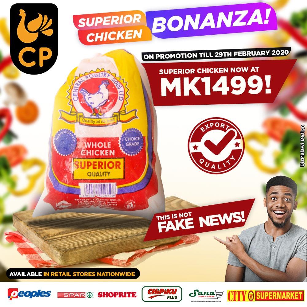 Superior Chicken Bonanza...