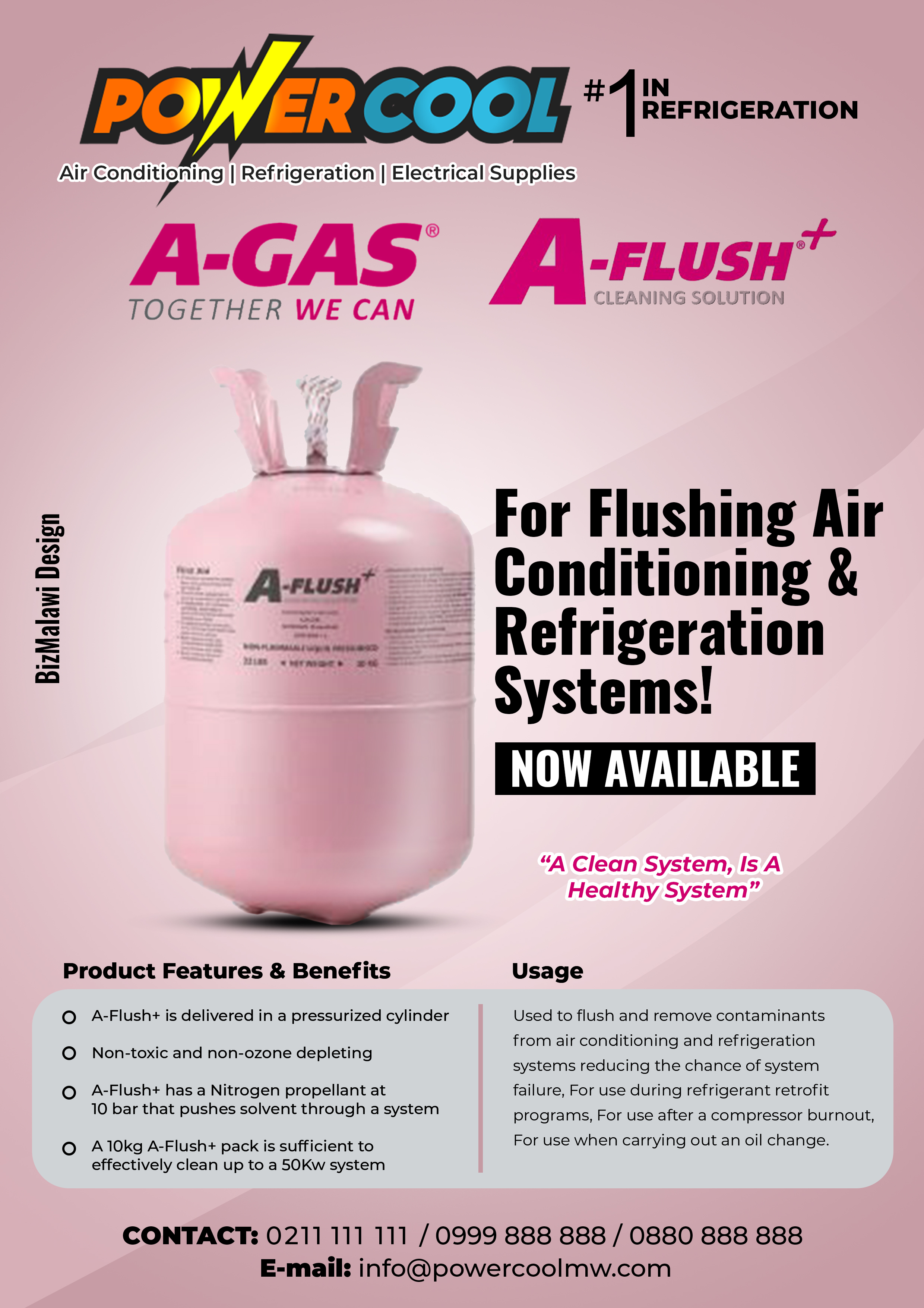 Cleaning Solution For Air Conditioning &...