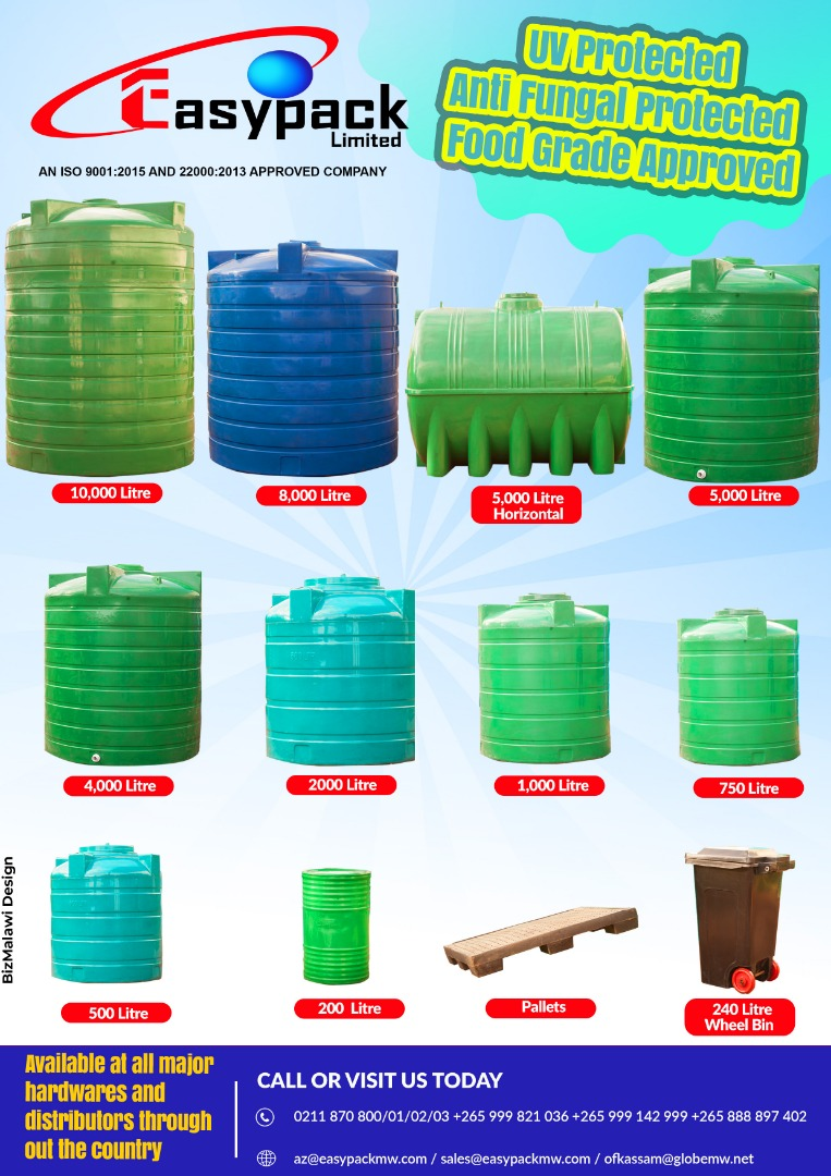Water Tanks Available in Various Sizes...