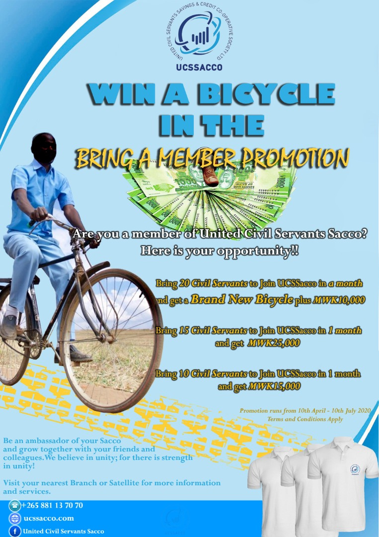 Win a Bicycle in the Bring a Member Comp...