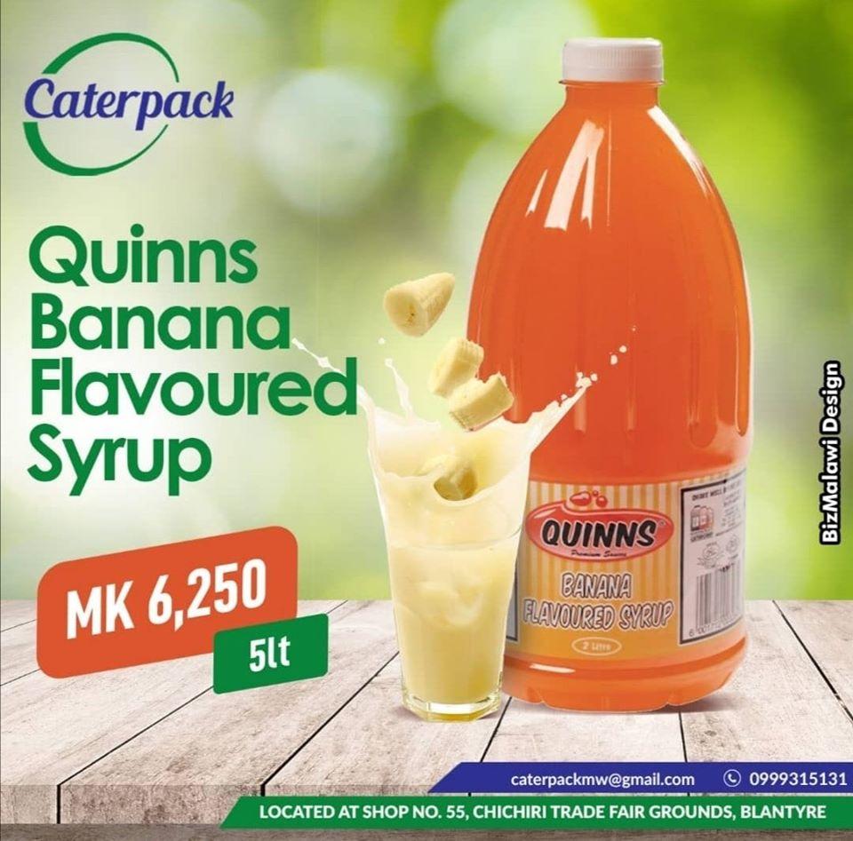 banana flavored syrup.  MK 6250 (5 Lit...