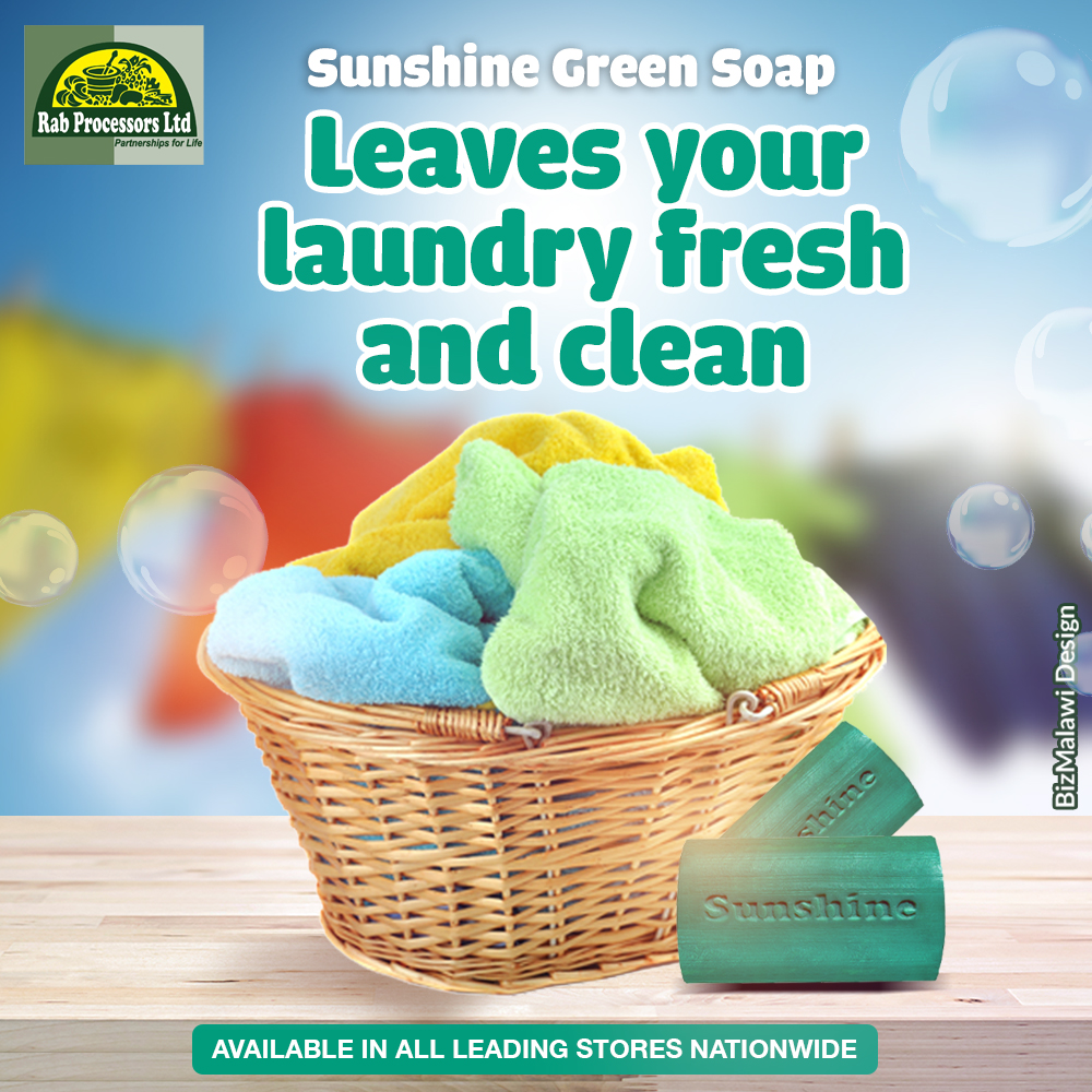 Green soap leaves your laundry feeling f...