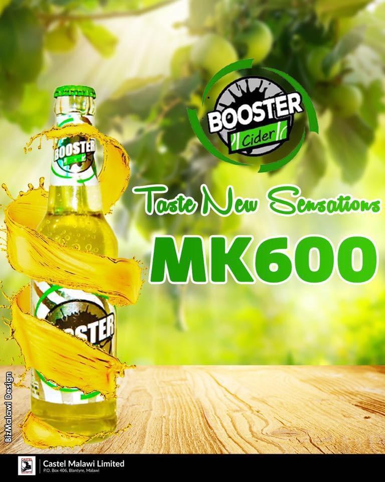 Booster Cider Booster Cider  Kick bac...