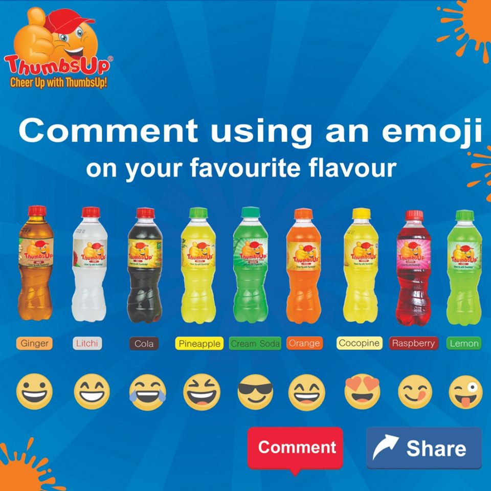 Go on comment using an emoji on your fav...