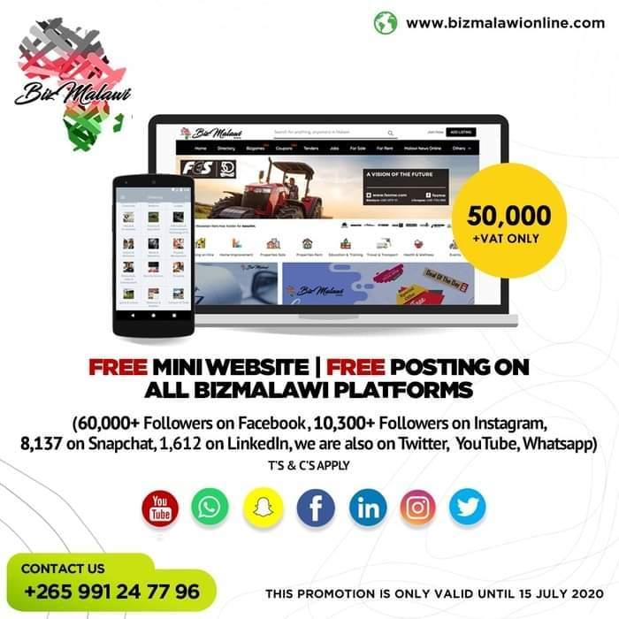 Bizmalawi Special Offer!...