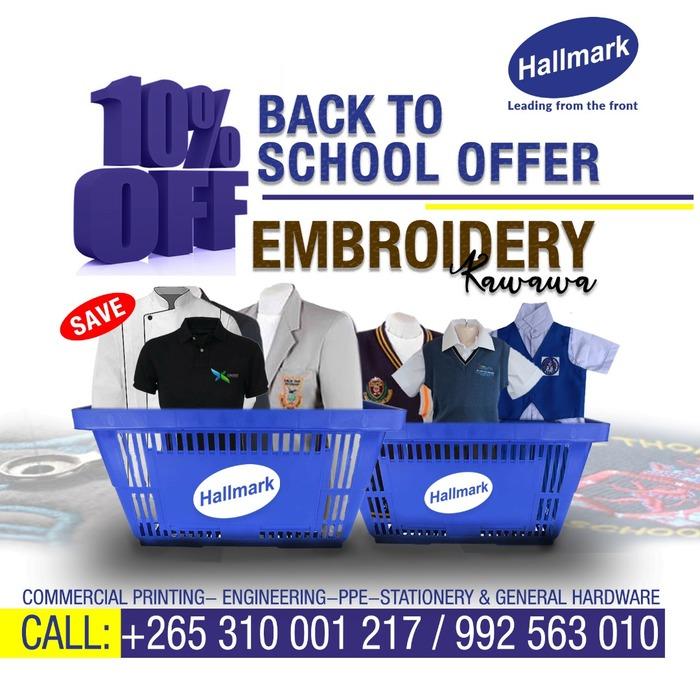 Hallmark Creations Back to School Off...