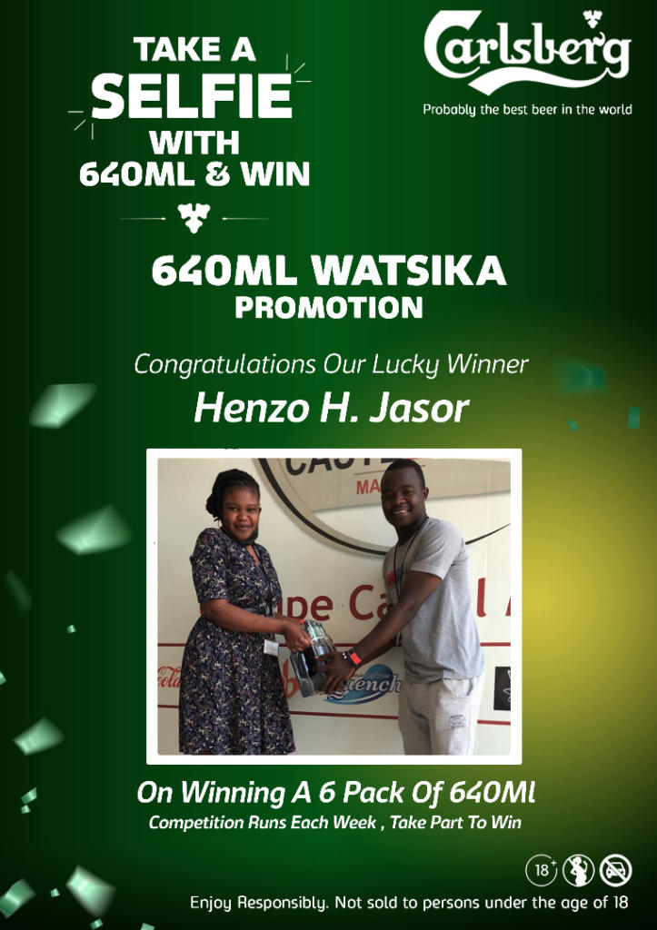 Congratulations to our winner of the 640...