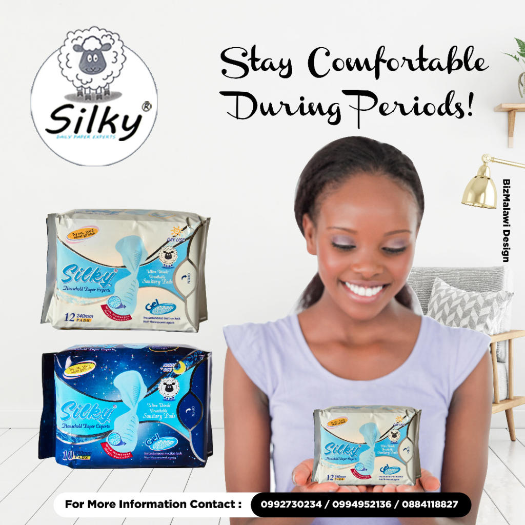 Stay comfortable during periods.
