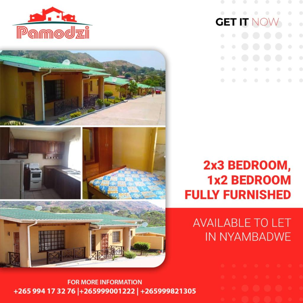 We have available spaces to Let in Nyamb...