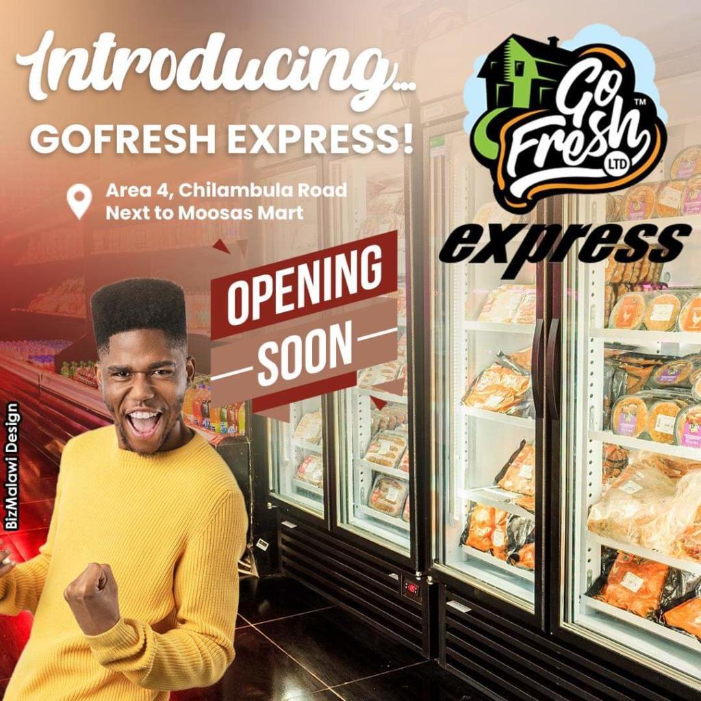Go Fresh Express Shop Opening Soon...
