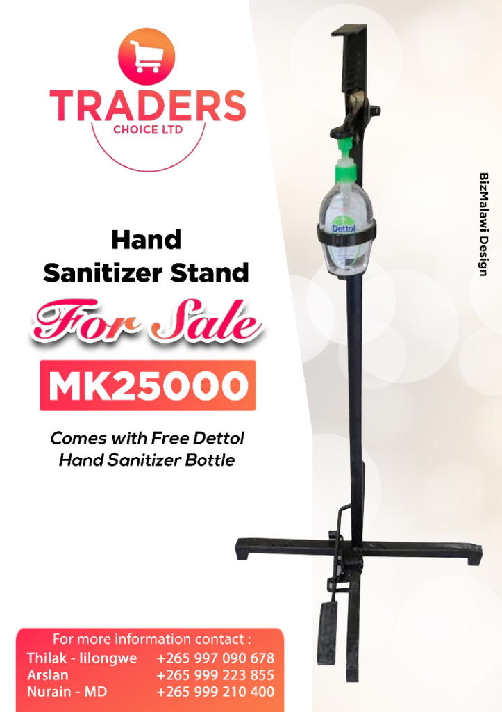 Hand Sanitizer Stand