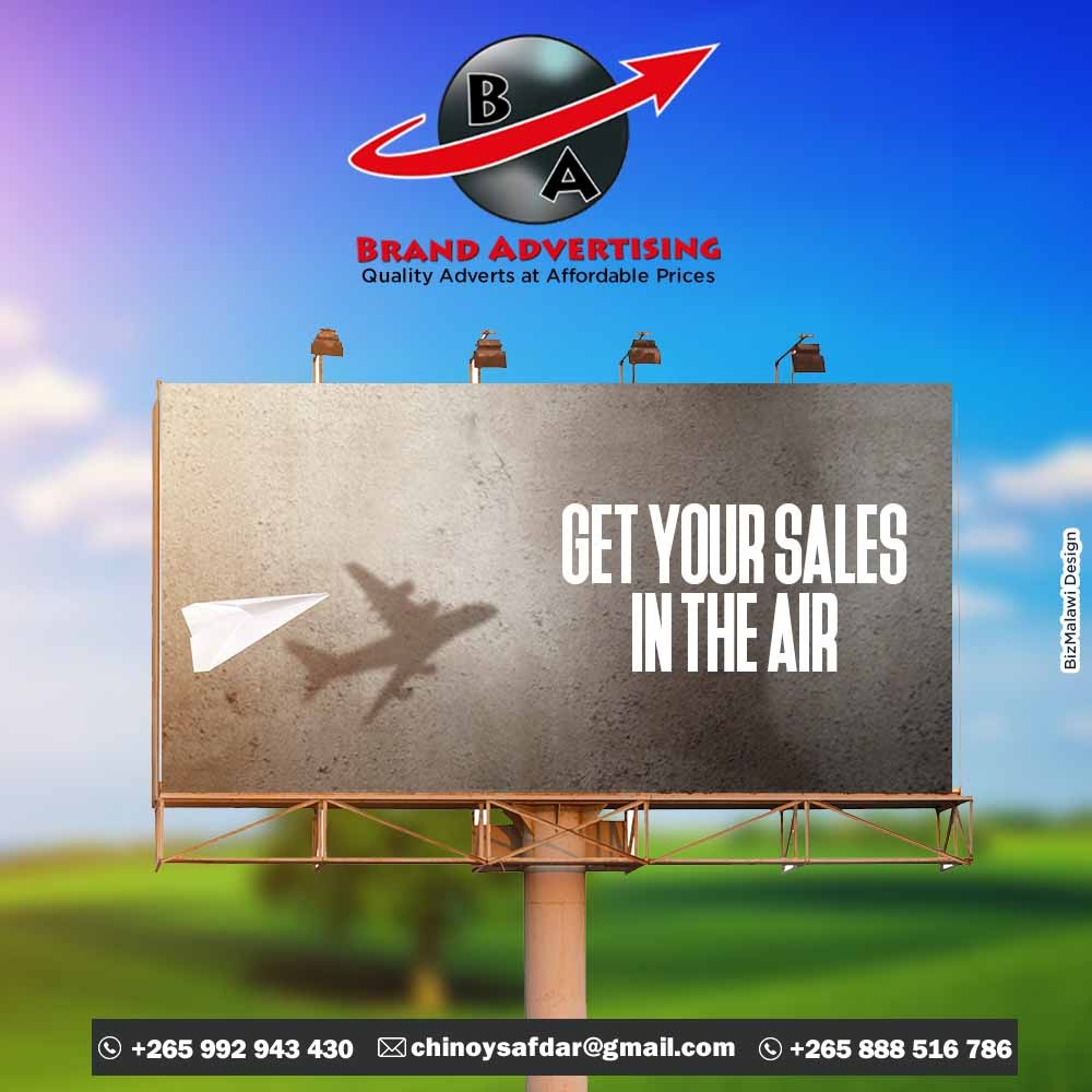 Get your sales in the air.