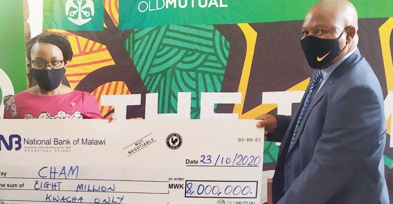 OLD MUTUAL COMMITS K8m TOWARDS...