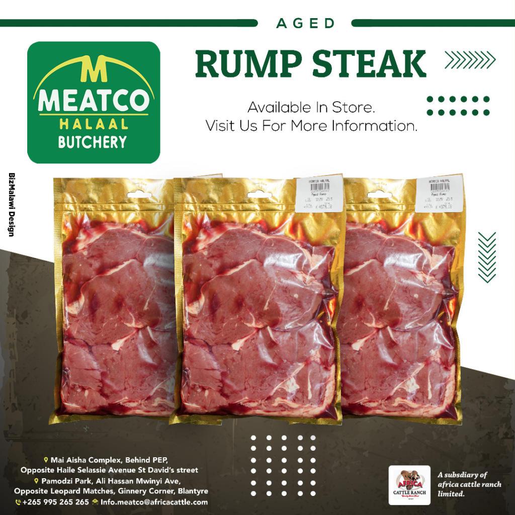 Rump steak sounds like a great idea.  ...