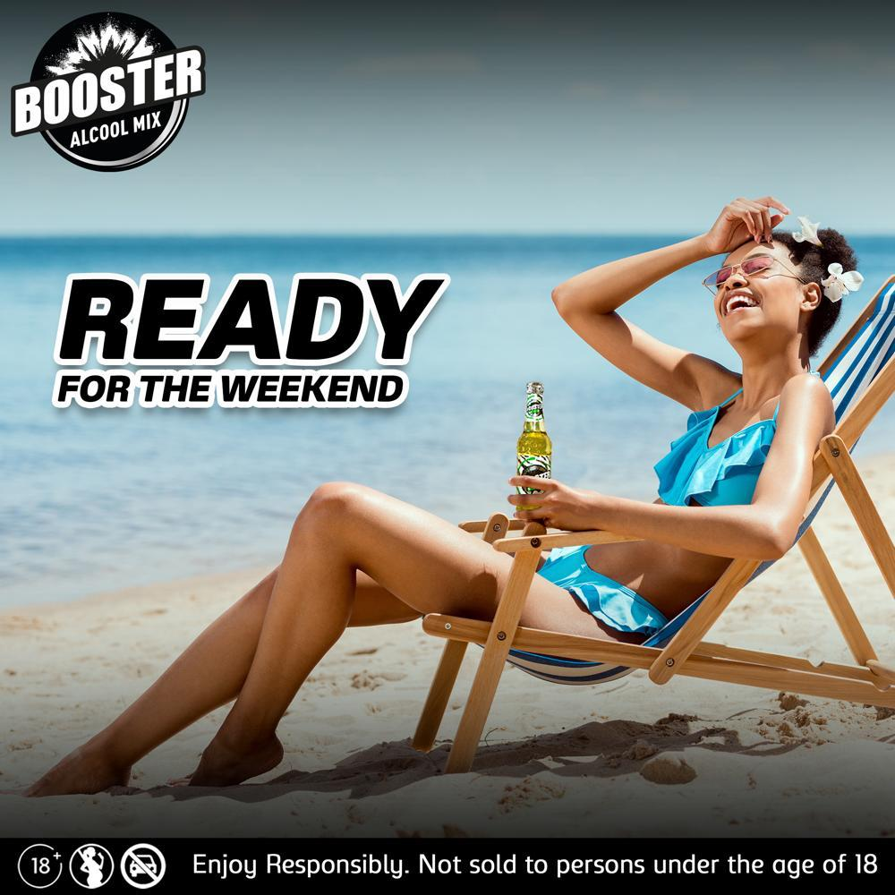 Booster Enjoy the weekend