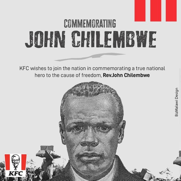 KFC Commemorations...