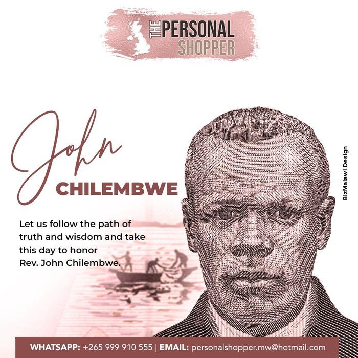 The Personal Shopper Chilembwe Day...