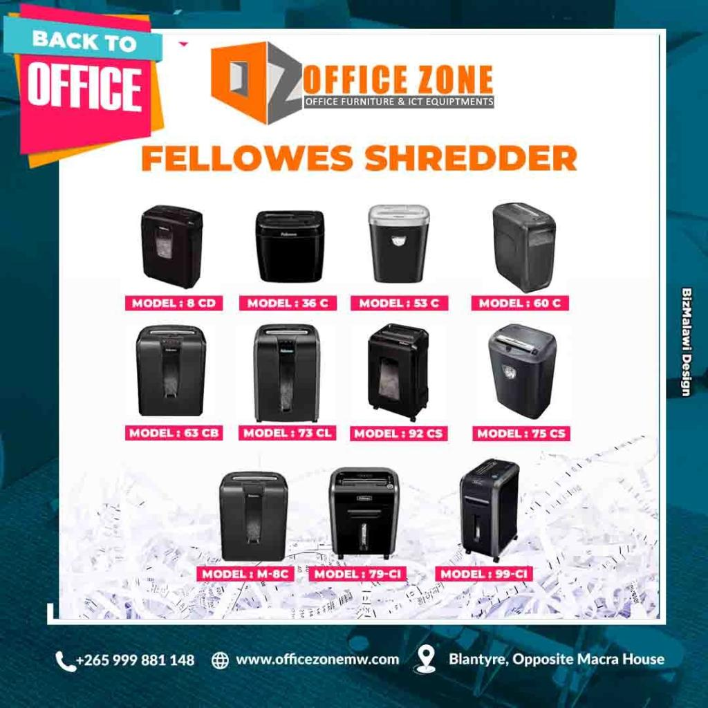 Be smart and get a Fellowes Shredder.