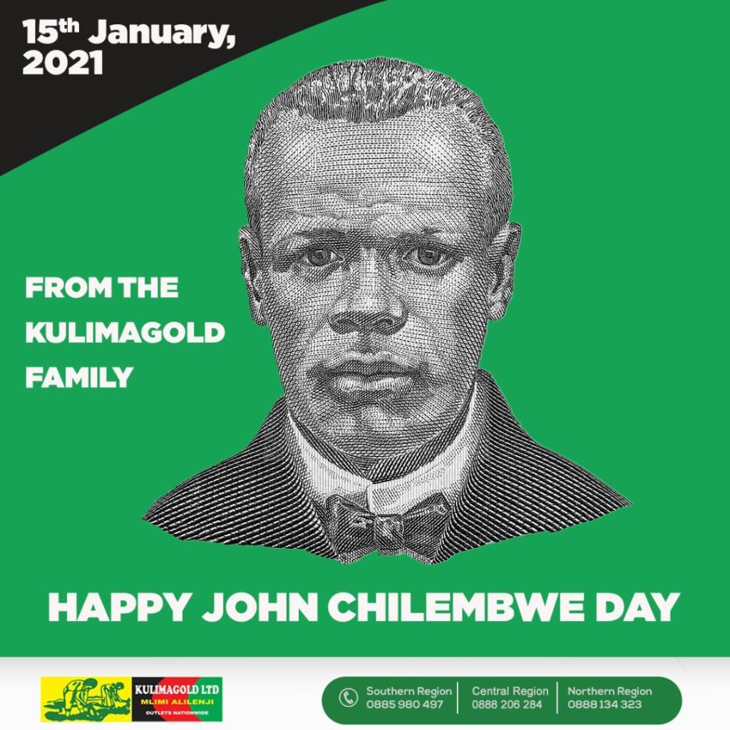 Happy John Chilembwe Day.   #Kul...