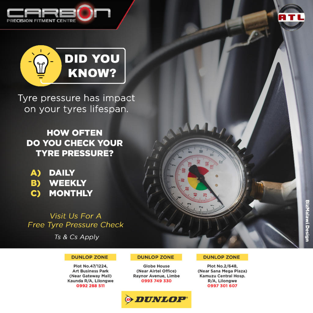 Have you checked your tyre pressure...