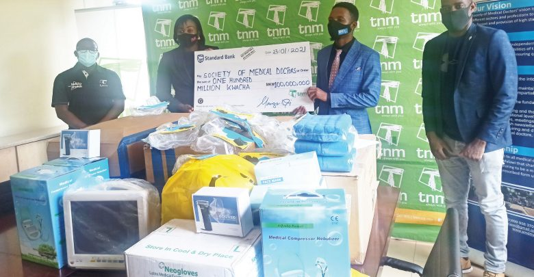 TNM GIVES MEDICAL ITEMS WORTH ...