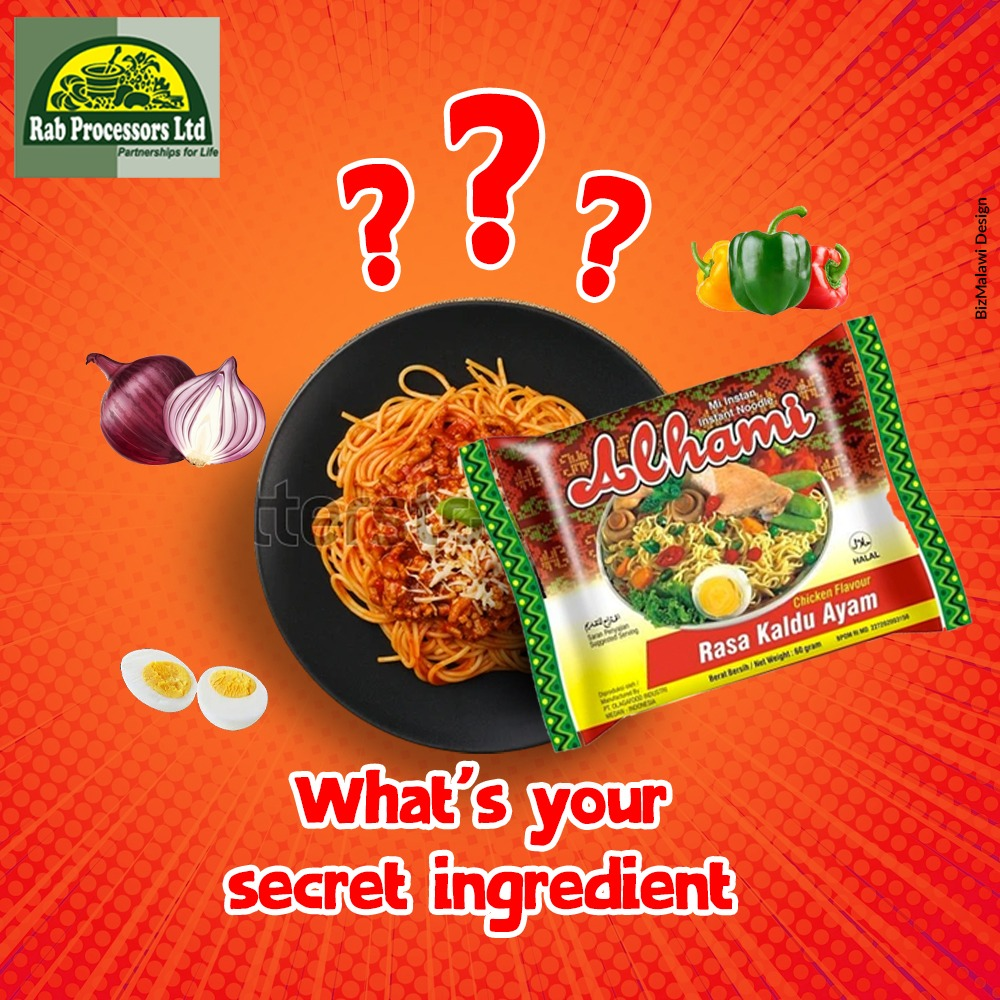 How do you prepare your Alhami Noodles?