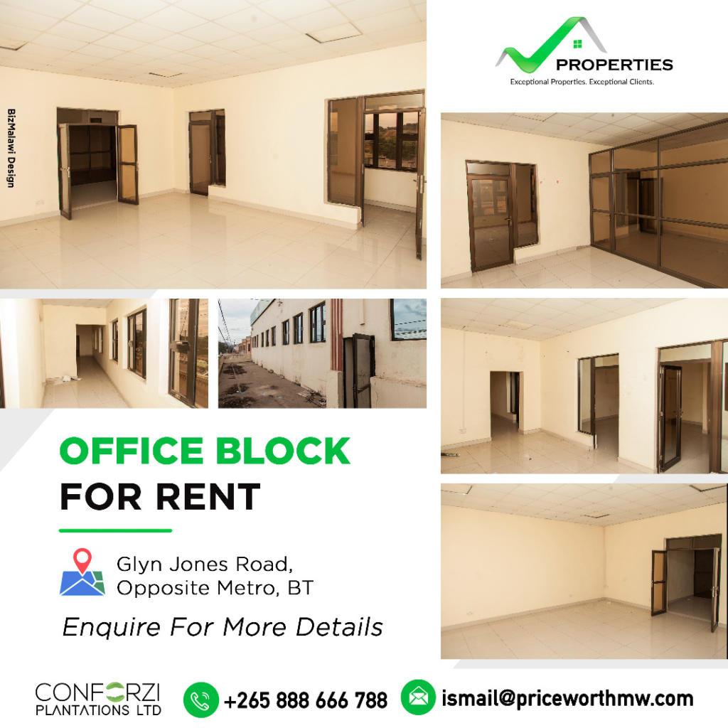 ConforziOffice Block For Rent.   Loca...