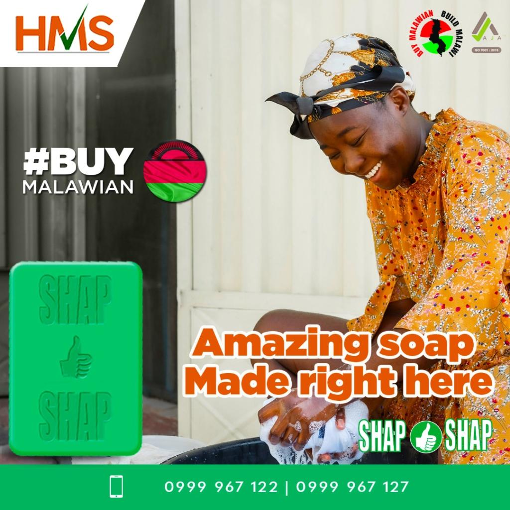 Shap Shap Soap is made by Malawians,  ...