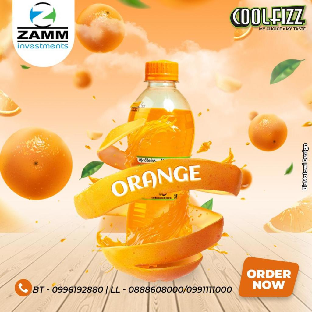 Life is better with Cool Fizz Orange a p...