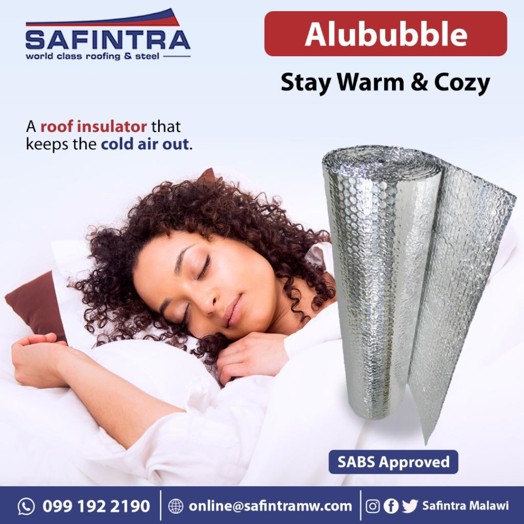 Keep warm this winter with Alububble by ...