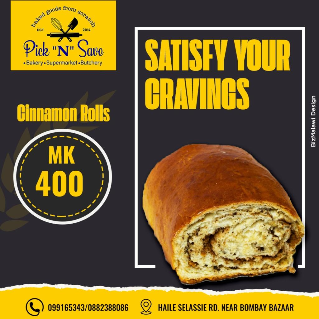 K400 gets you a tasty cinnamon roll at P...