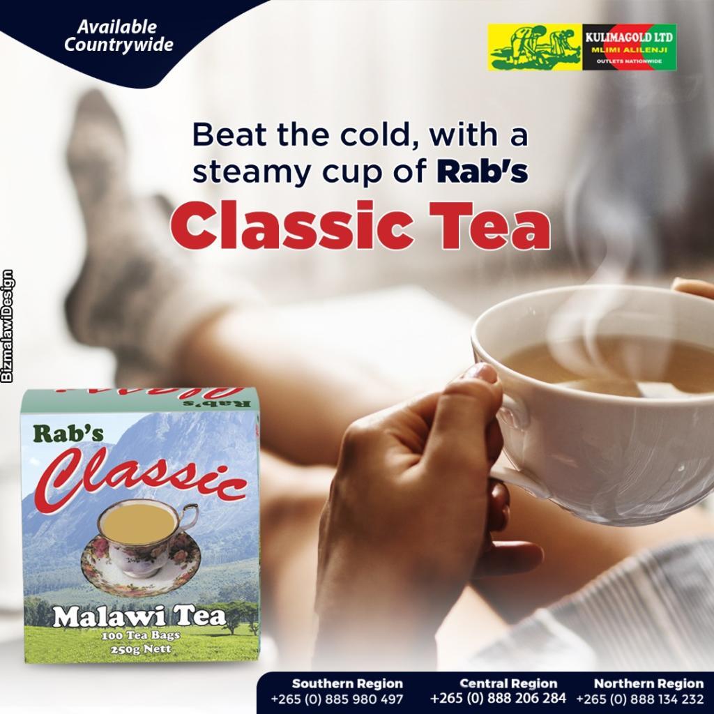 A warm cup of Classic Tea keep...