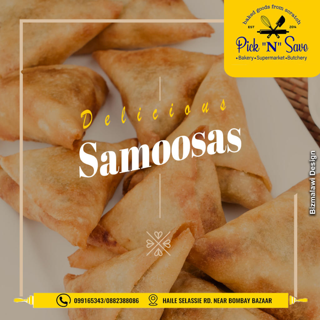 Drop by for scrumptious Samoosas, ...