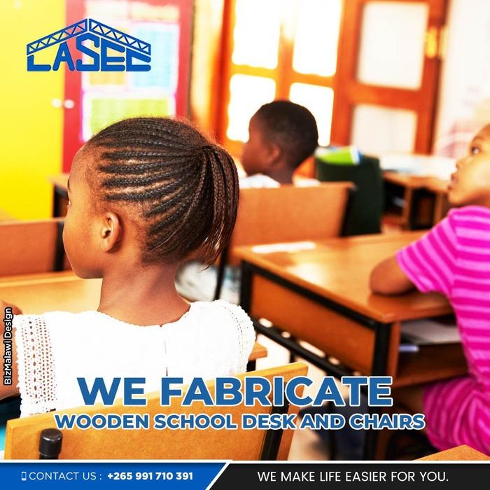LASEC We Fabricate Desks...